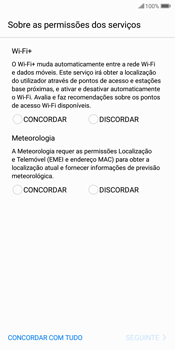 Huawei P Smart - Primeiros passos - Como ligar o telemóvel pela primeira vez -  8