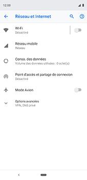 Google Pixel 3XL - Réseau - Utilisation à l