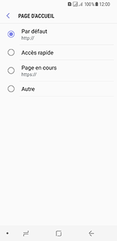 Samsung Galaxy A8 (2018) - Internet - configuration manuelle - Étape 28