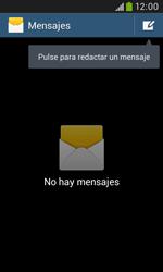 Samsung S7580 Galaxy Trend Plus - Mensajería - Configurar el equipo para mensajes de texto - Paso 4