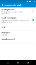 HTC One M8 - Red - Seleccionar el tipo de red - Paso 7