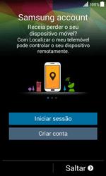 Samsung Galaxy Core II - Primeiros passos - Como ligar o telemóvel pela primeira vez -  14