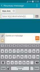 Samsung Galaxy A5 (A500FU) - Contact, Appels, SMS/MMS - Envoyer un SMS - Étape 10