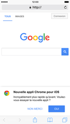 Apple iPhone 6 iOS 10 - Internet - navigation sur Internet - Étape 4