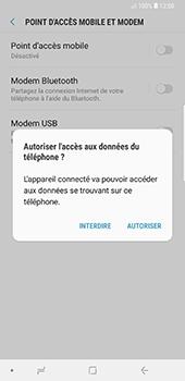 Samsung Galaxy Note 9 - Internet et connexion - Utiliser le mode modem par USB - Étape 7