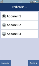 Samsung Wave 723 - Photos, vidéos, musique - Envoyer une photo via Bluetooth - Étape 11