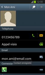 Samsung Galaxy Express - Contact, Appels, SMS/MMS - Ajouter un contact - Étape 13