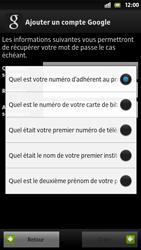 Sony Xpéria S - Premiers pas - Créer un compte - Étape 18