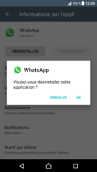 Sony Xperia XZ (F8331) - Applications - Supprimer une application - Étape 7