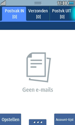 Samsung S5250 Wave 525 - E-mail - e-mail instellen: POP3 - Stap 8