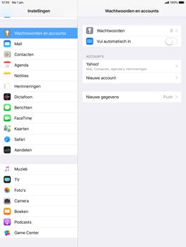 Apple iPad Air iOS 12 - E-mail - e-mail instellen (yahoo) - Stap 9