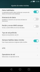 Huawei Ascend G7 - Red - Seleccionar el tipo de red - Paso 8