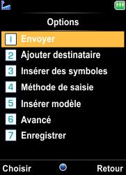 Bouygues Telecom Bc 101 - Contact, Appels, SMS/MMS - Envoyer un SMS - Étape 12