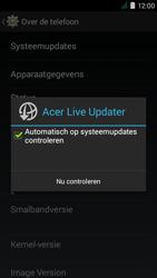 Acer Liquid Z410 - Netwerk - Software updates installeren - Stap 7