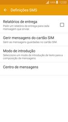 Samsung Galaxy Grand Prime - SMS - Como configurar o centro de mensagens -  9