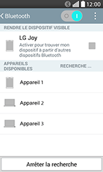LG H220 Joy - WiFi et Bluetooth - Jumeler votre téléphone avec un accessoire bluetooth - Étape 7