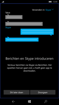 Microsoft Lumia 950 XL - SMS - Handmatig instellen - Stap 4