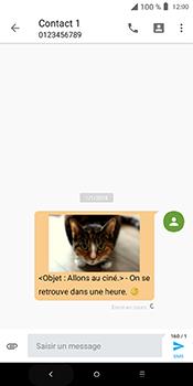 Alcatel 3L - Contact, Appels, SMS/MMS - Envoyer un MMS - Étape 22
