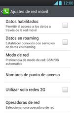 LG Optimus L7 - Internet - Configura el Internet - Paso 6