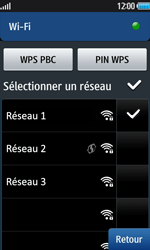 Samsung Wave 2 - Internet et connexion - Accéder au réseau Wi-Fi - Étape 9