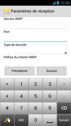 Acer Liquid Z5 - E-mail - Configuration manuelle - Étape 10
