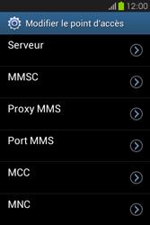 Samsung S6810P Galaxy Fame - MMS - configuration manuelle - Étape 13
