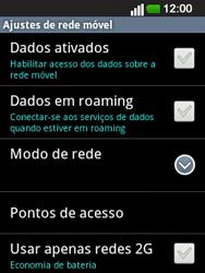 LG E400 - Internet no telemóvel - Como ativar os dados móveis -  6