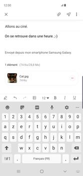 Samsung Galaxy S10 - E-mail - envoyer un e-mail - Étape 19