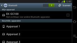 Samsung GC100 Galaxy Camera - Bluetooth - Headset, carkit verbinding - Stap 6
