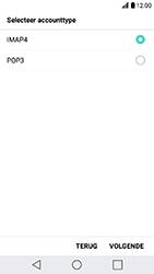 LG K10 (2017) (M250n) - E-mail - Account instellen (IMAP zonder SMTP-verificatie) - Stap 8