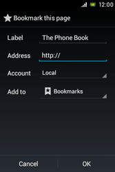 Sony ST23i Xperia Miro - Internet - Internet browsing - Step 8