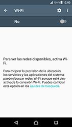 Sony Xperia XZ - Android Nougat - WiFi - Conectarse a una red WiFi - Paso 5