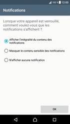 Sony Xperia XZ (F8331) - Sécuriser votre mobile - Activer le code de verrouillage - Étape 12