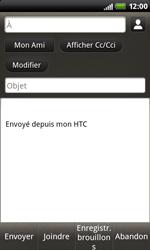 HTC S510b Rhyme - E-mail - Envoi d