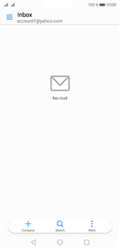 Huawei P20 Pro - E-mail - Manual configuration (yahoo) - Step 3