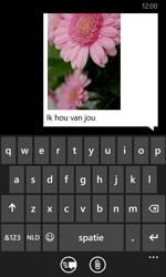 Nokia Lumia 635 - MMS - Afbeeldingen verzenden - Stap 12