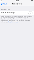 Apple iPhone 6 - iOS 12 - toestel resetten - back-up maken met jouw account - stap 12