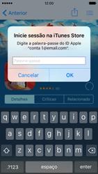 Apple iPhone 5s iOS 9 - Aplicações - Como pesquisar e instalar aplicações -  16