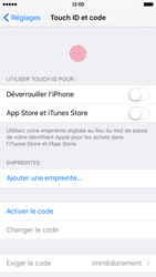 Apple iPhone 6s - Sécuriser votre mobile - Activer le code de verrouillage - Étape 4
