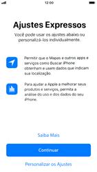Apple iPhone 7 - iOS 12 - Primeiros passos - Como ativar seu aparelho - Etapa 20