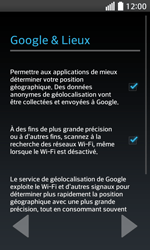 LG F70 - Premiers pas - Créer un compte - Étape 5