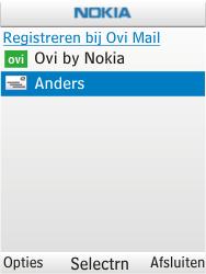 Nokia C2-01 - E-mail - handmatig instellen - Stap 7