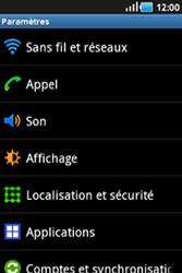 Samsung Galaxy Ace - Internet et connexion - Désactiver la connexion Internet - Étape 4