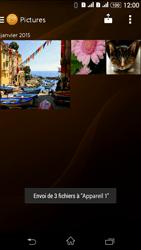 Sony Xperia E4g - Photos, vidéos, musique - Envoyer une photo via Bluetooth - Étape 16