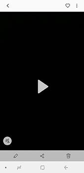 Samsung Galaxy J6 - Photos, vidéos, musique - Créer une vidéo - Étape 15