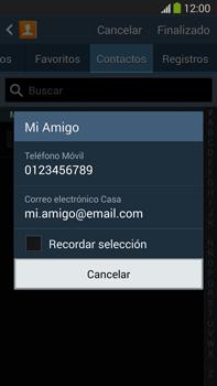 Samsung Galaxy Note 3 - Mensajería - Escribir y enviar un mensaje multimedia - Paso 7
