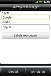 HTC A510e Wildfire S - Internet - Hoe te internetten - Stap 6