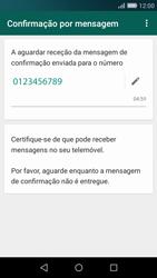 Huawei P8 Lite - Aplicações - Como configurar o WhatsApp -  8