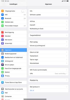 Apple ipad-pro-11-inch-2018-model-a1934 - WiFi - Mobiele hotspot instellen - Stap 3