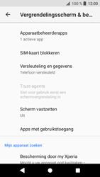 Sony xperia-xa1-g3121-android-oreo - Beveiliging en ouderlijk toezicht - Hoe wijzig ik mijn SIM PIN-code - Stap 5